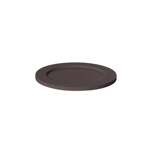 Adaptateur Cercle Plein Evolution D12.5cm Surface Solide Marron