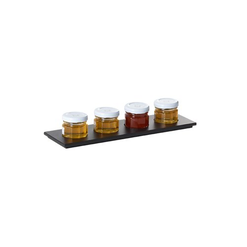Evolution Tray 4 Compartments 24x7x0.6cm Paperstone