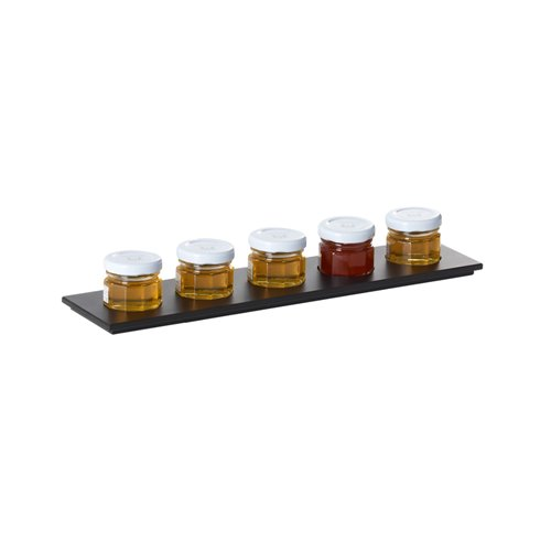 Evolution Tray 5 Compartments 29.5x7x0.6cm Paperstone