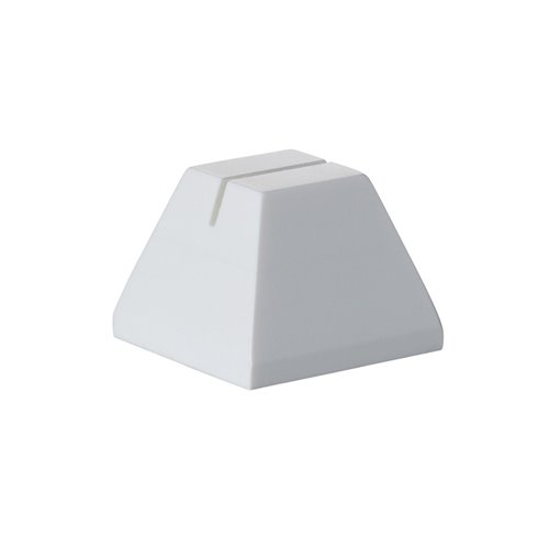 Evolution Tag Holder White Solid Surface