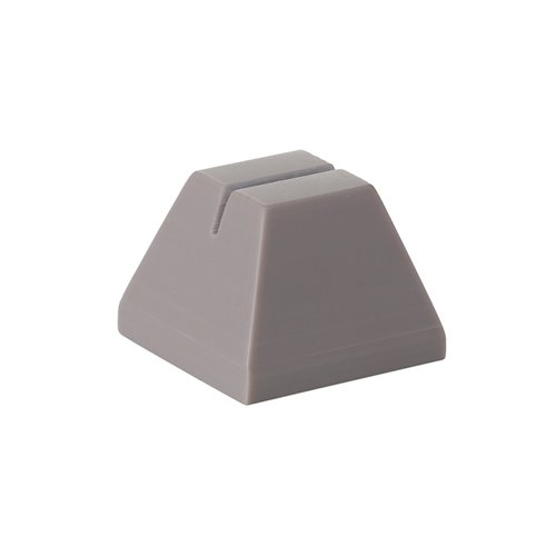Evolution Tag Holder 4x4x3cm Grege Solid Surface