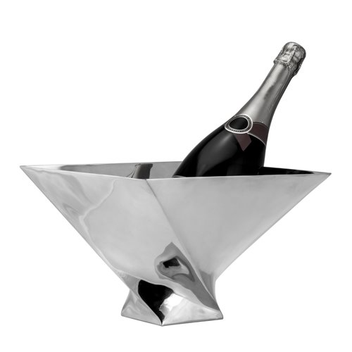 Eclipse Champagne Bowl 29x29x20cm Pewter