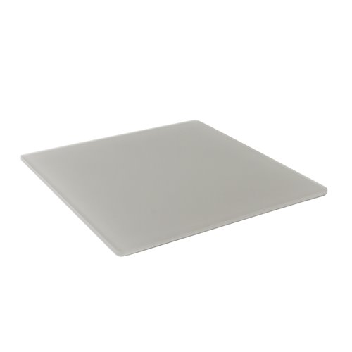Tray 25x25cm - Insert 16x16cm Pearl Grey Resin