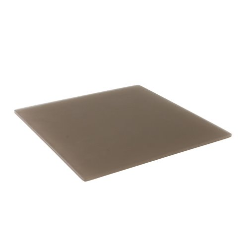 Tray 25x25cm - Insert 16x16cm Brown Resin