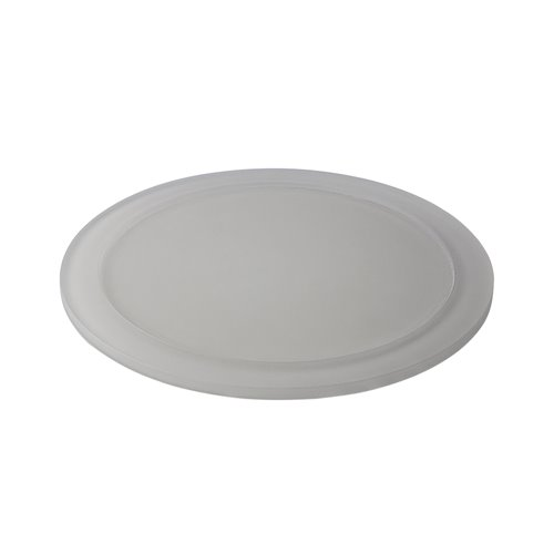 Tray D24cm Insert 13cm Pearl Grey Resin