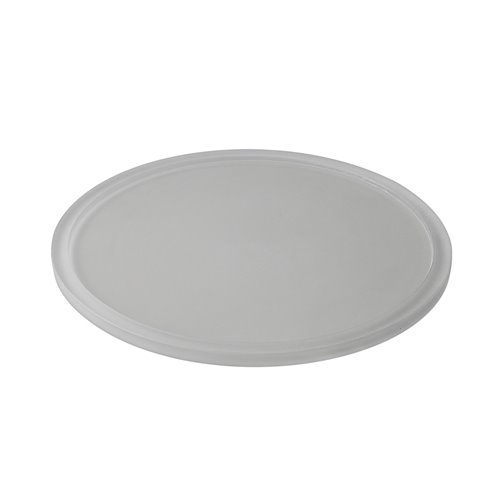 Tray D22cm Insert 10.7cm Pearl Grey Resin