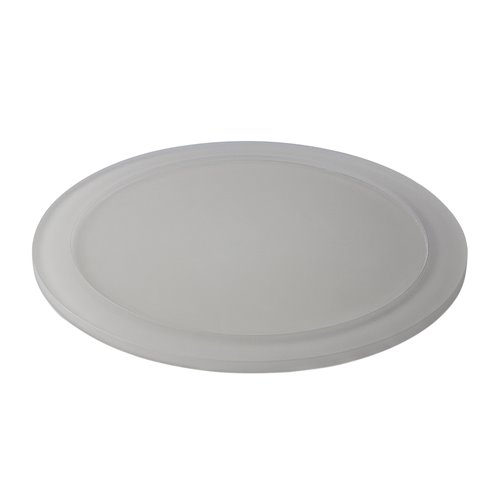 Tray D28cm Insert 13cm Pearl Grey Resin