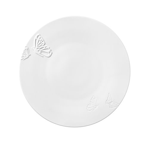 Charger Plate 32cm Butterfly Princess Engraved & Relief