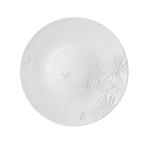 Charger Plate 32cm Promenade Bucolique Engraved & Relief