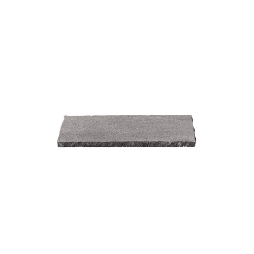 Tray 24x10cm H1cm Raw Edges Lava Stone
