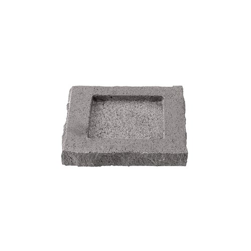 Beurrier 8x8cm H1cm Bords Bruts Pdl