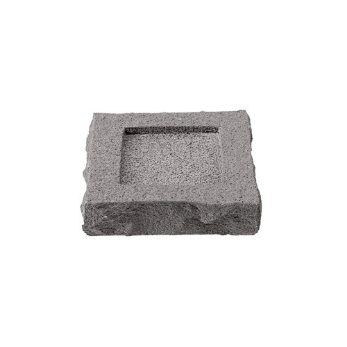 Beurrier 8x8cm H2cm Bords Bruts Pdl