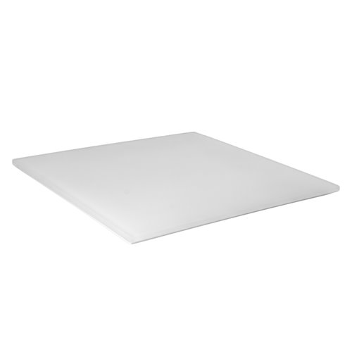 Tray 25x25cm - Insert 16x16cm White Resin