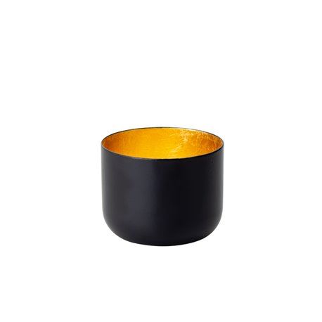 Cocoon Tealight Holder 7.5cm Black