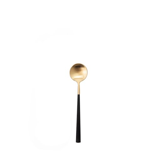 Neo black and gold - coffee spoon
