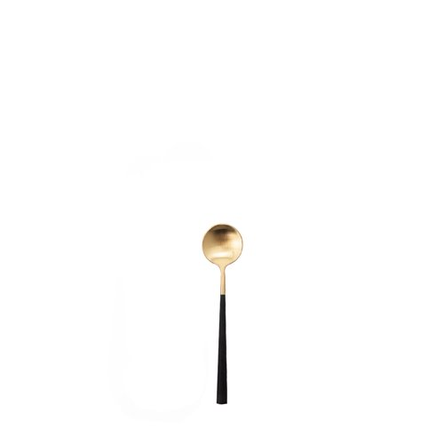 Neo black and gold - mocha spoon