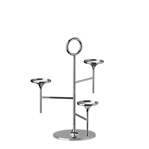 Support Saint-Honoré Inox H33cm