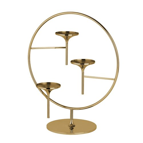 Opera Stand Polished Brass