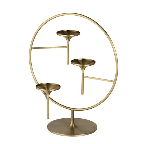 Opera Stand Brushed Brass