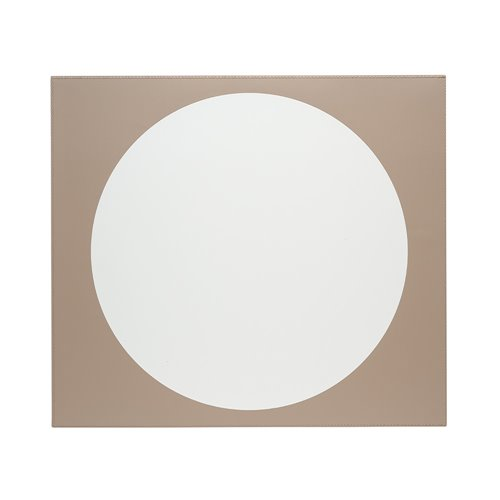 Eclipse Placemat 45x40cm Light grey/Taupe