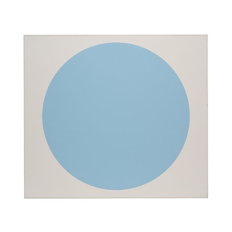 Eclipse Placemat 45x40cm Blue/Cream
