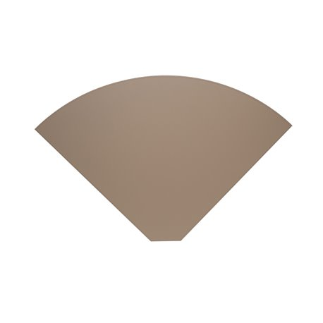 Lune Placemat 43cm taupe