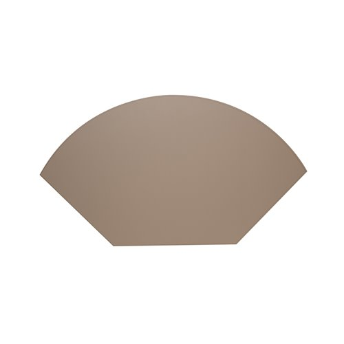 Lune Placemat 34cm taupe
