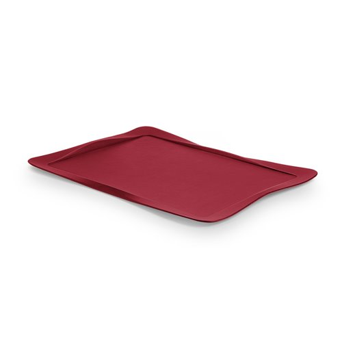 Carbon Tray Cherry Red