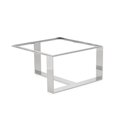 Horizon Stand  Stainless steel H20cm L38x38cm