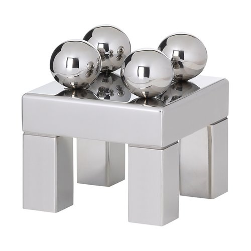 Sphere Stand 20x20x15cm Stainless Steel