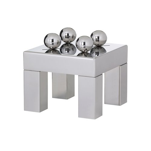 Sphere Stand 30x30x23cm Stainless Steel