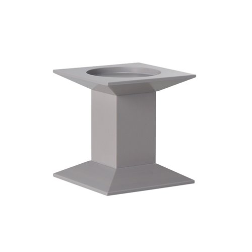 Classic Evolution Stand 17x17x17cm Grege Solid Surface