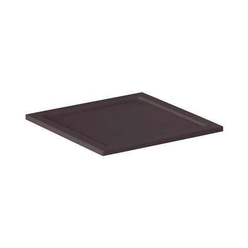 Adaptateur Carre Evolution 16x16cm Surface Solide Marron