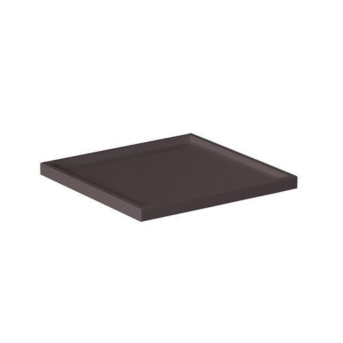 Adaptateur Insert Carre Plat.Evolution 16x16cm Surface Solide Marron