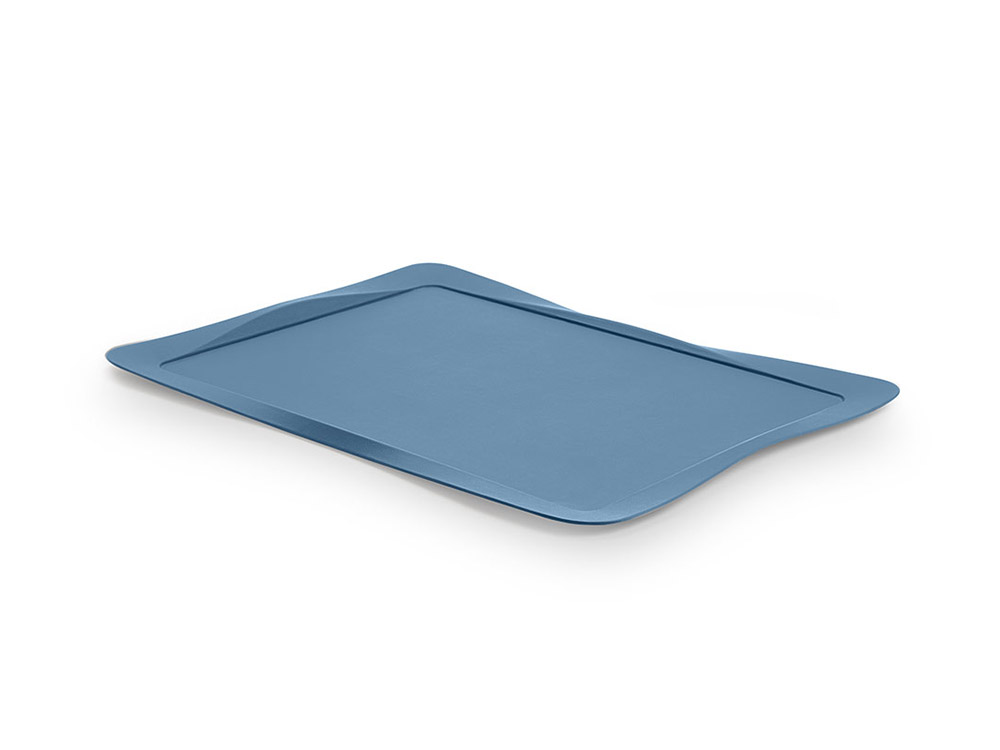 Carbon tray light blue