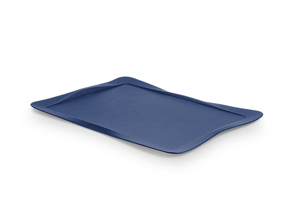 Carbon tray blue