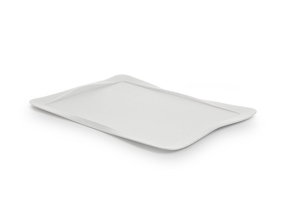Carbon tray pearl grey