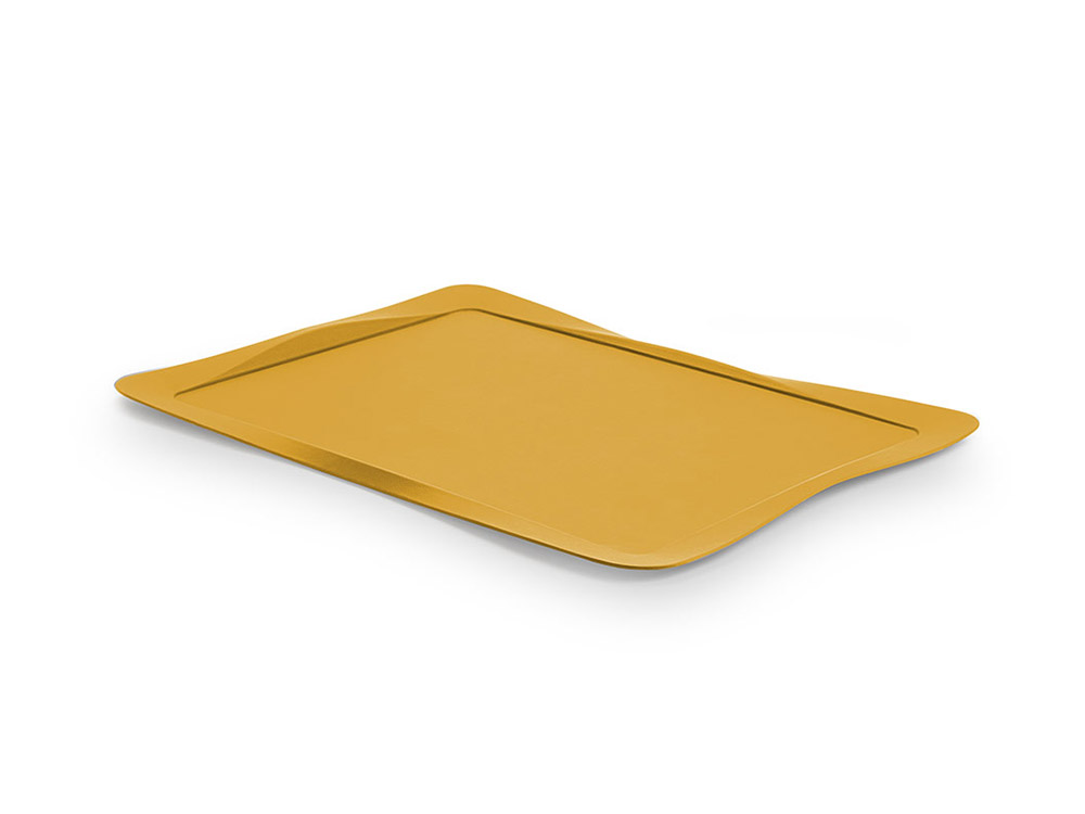 Carbon tray yellow