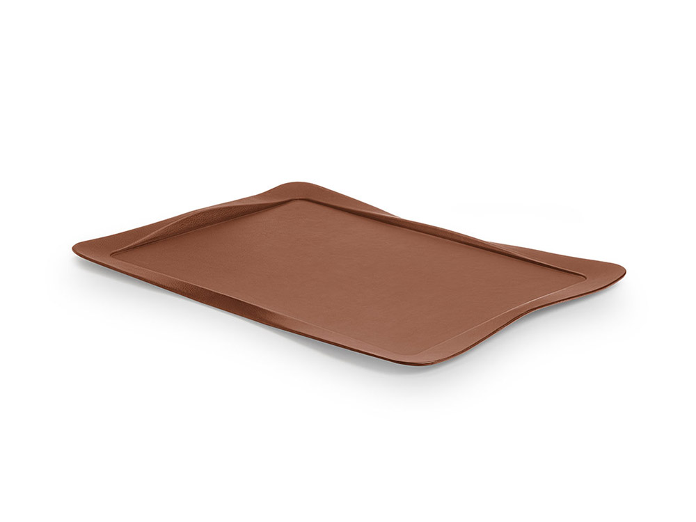 Carbon tray light brown