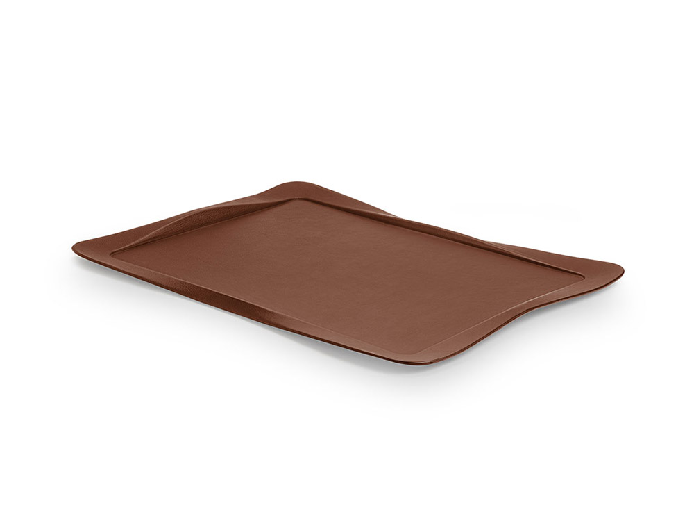 Carbon tray brown