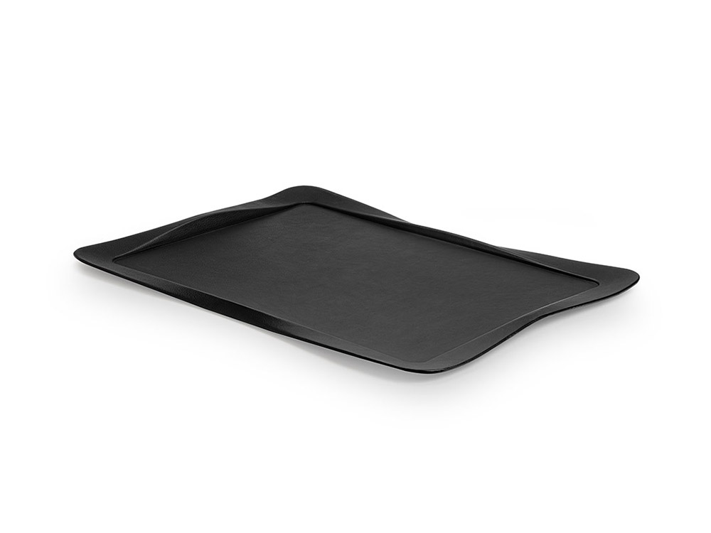 Carbon tray black