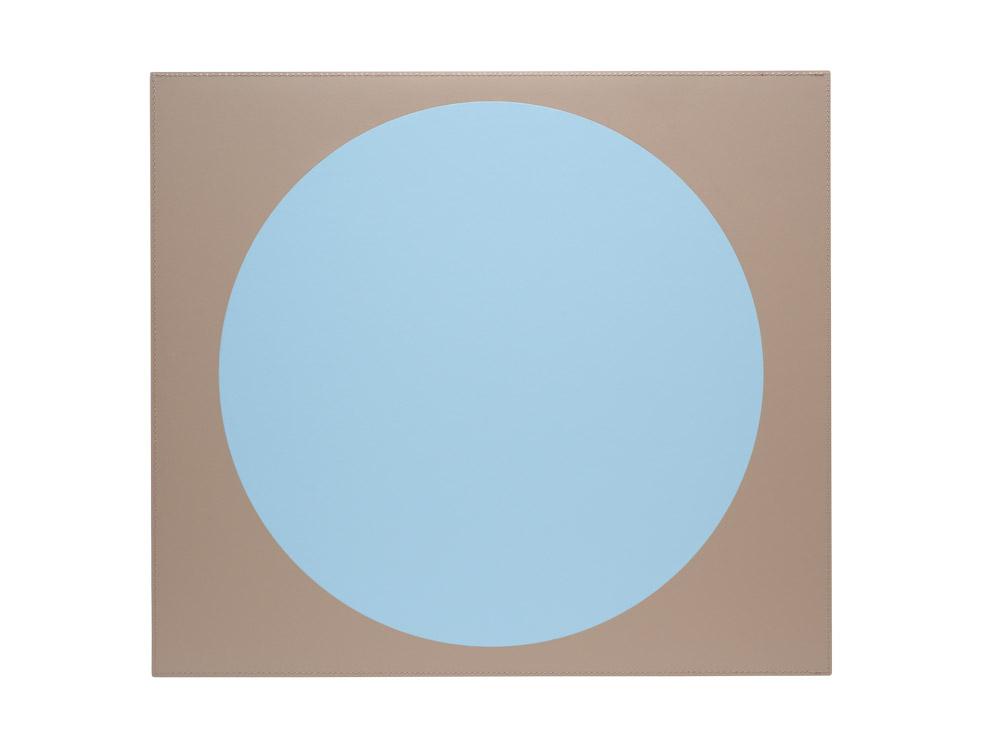 Eclipse placemat taupe blue