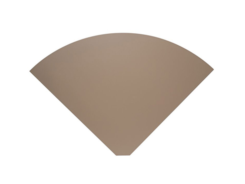 Lune placemat taupe