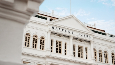 Video : The reopening of Raffles Singapore