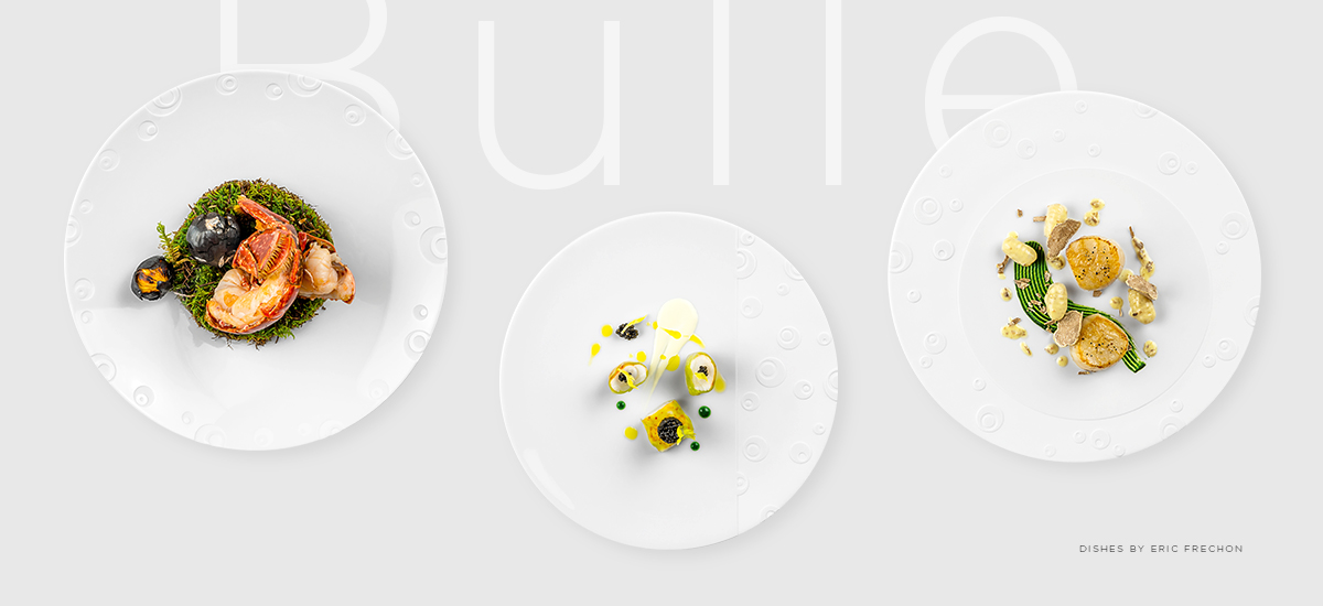 Bulle Collection by Eric Frechon